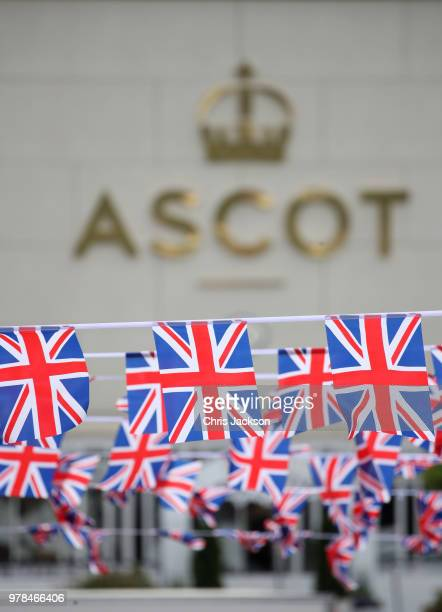 Guests arrive on carriage to attend Royal Ascot Day 1 at Ascot Racecourse on June 19 2018 in Ascot United Kingdom