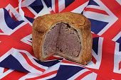 british pork pie with large slice