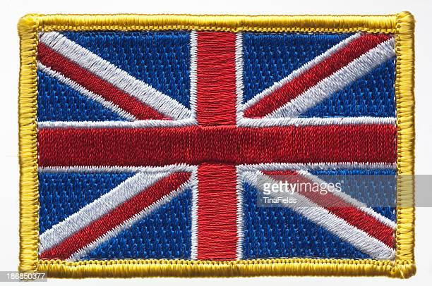 ユニオンジャック、英国の旗のパッチ。