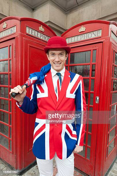 Union Jack Johnny about in London Town