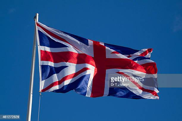 union jack - flagpole stock pictures, royalty-free photos & images