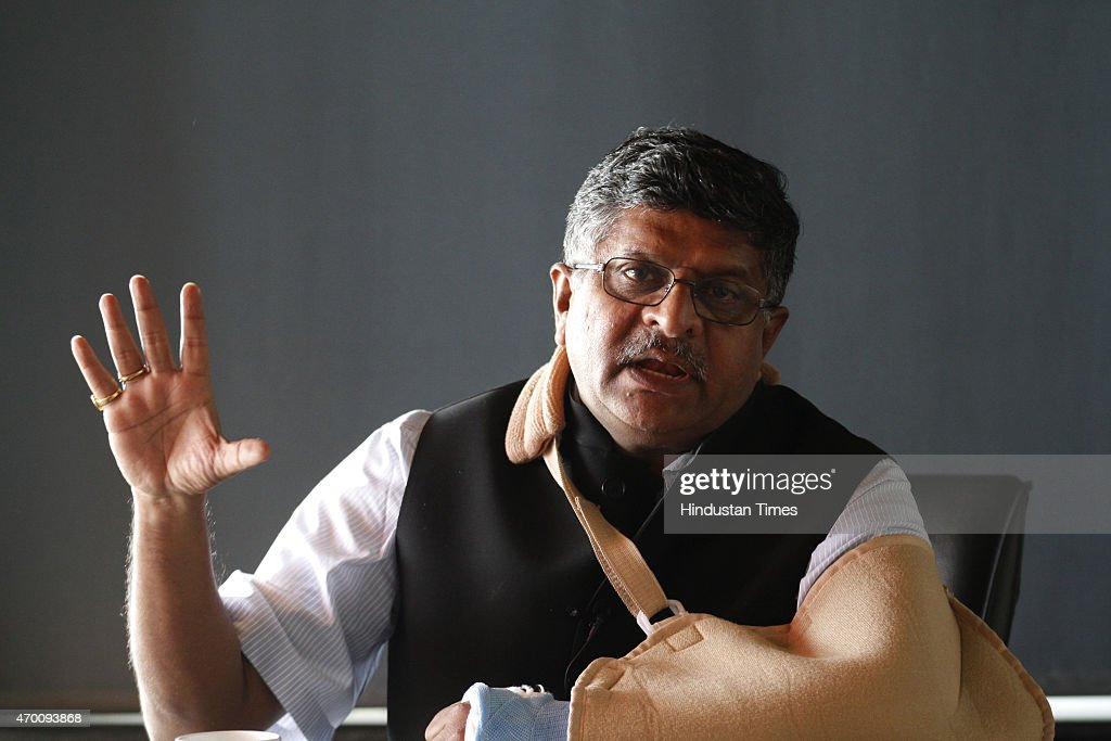 Interview Of Ravi Shankar Prasad