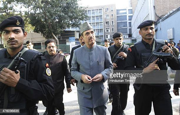 Union Minister for Health and Family Welfare Ghulam Nabi Azad during the inauguration of the Convergence Block and free Generic Pharmacy store at...