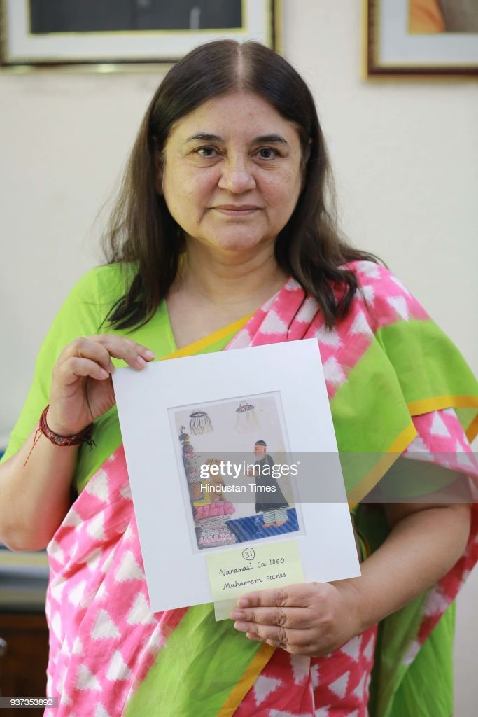 HT Exclusive: Profile Shoot Of Union Minister For Women And Child Development Maneka Gandhi