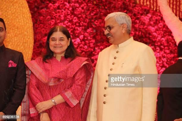Wedding Reception Of Ishani Sharma And Ips Officer Sachin Sharma