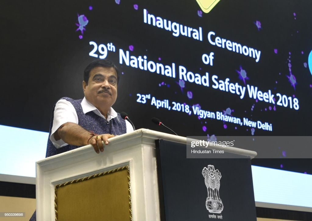 Union Minister Nitin Gadkari Inaugurates 29th Road Safety Week In Delhi