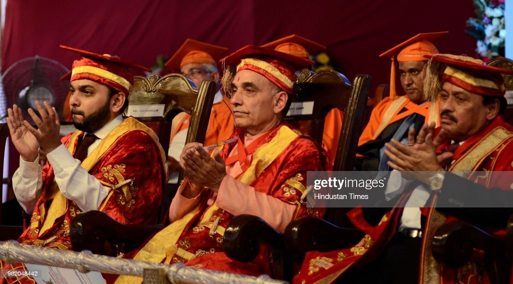 Union Minister Satyapal Singh Attends A Convocation Of Bharati Vidyapeeth Deemed University