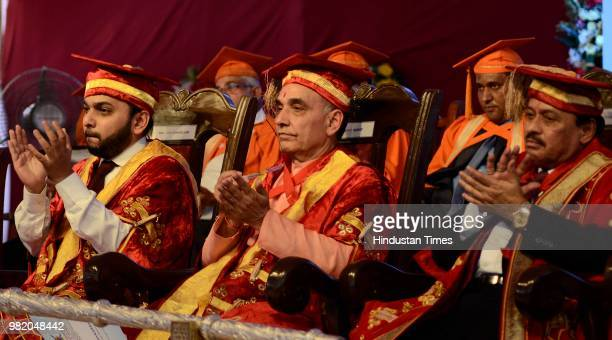 Union Minister Satyapal Singh during a convocation of Bharati Vidyapeeth Deemed University on June 22 2018 in Pune India