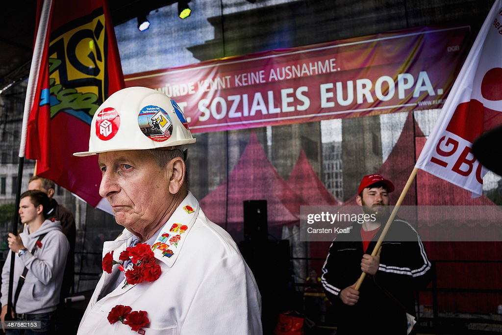 May Day In Germany: Berlin : News Photo