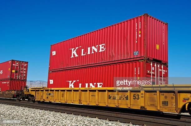 union pacific railroad freight train, palm springs, california - moving past stock pictures, royalty-free photos & images