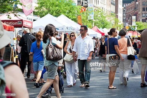 유니언 스퀘어 그린마켓 - ユニオンスクエア ストックフォトと画像