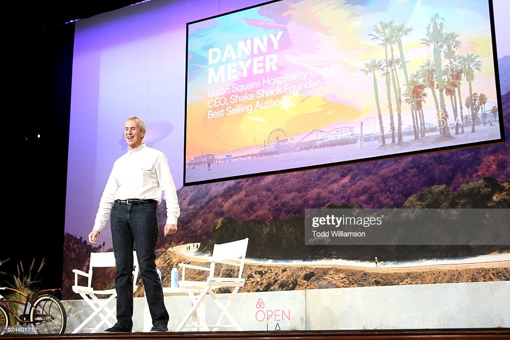 Union Square Hospitality Group CEO and Shake Shack Founder Danny Meyer speaks onstage during Setting the & Danny Meyer Restaurateur Photos u2013 Pictures of Danny Meyer ...