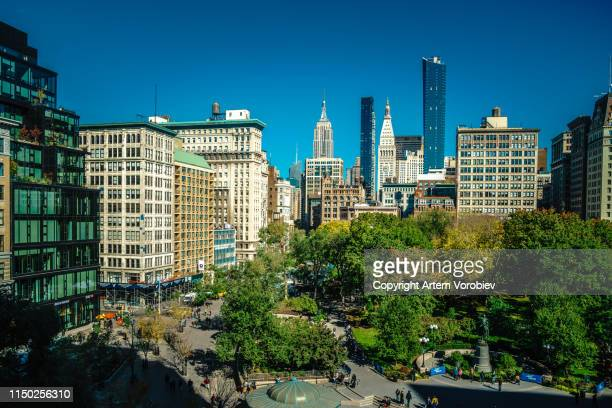 union square, new york - union square new york city stock pictures, royalty-free photos & images