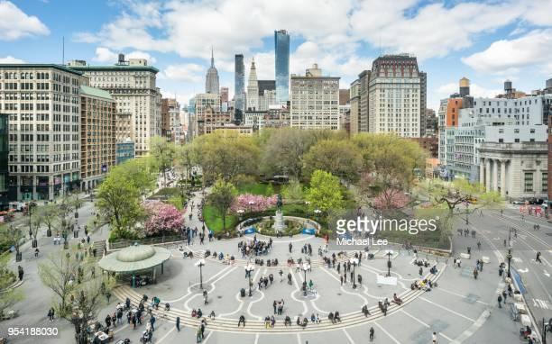 union square park - new york - ユニオンスクエア ストックフォトと画像