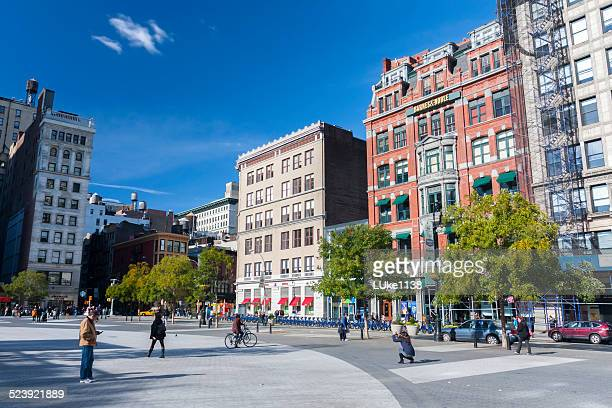 union square - union square new york city stock pictures, royalty-free photos & images