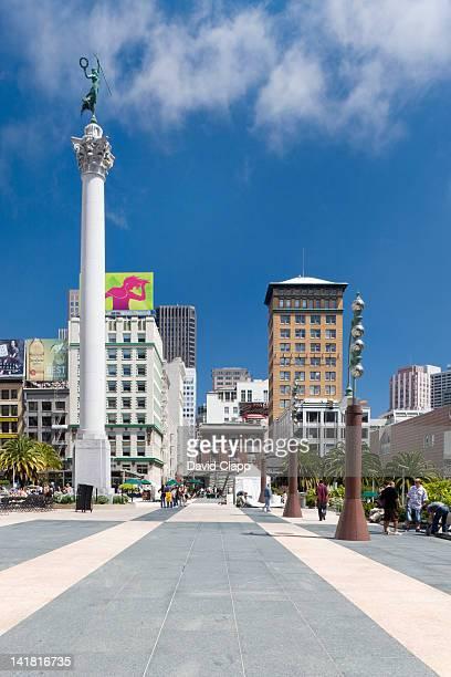 Union Square, San Francisco, California, United States of America, North America