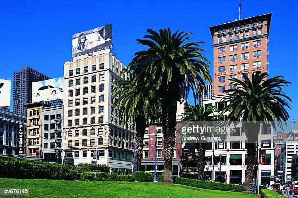 union square, san francisco, california, usa - ユニオンスクエア ストックフォトと画像