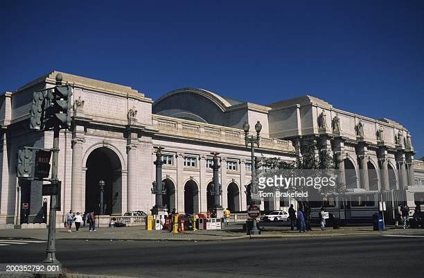 union station exterior, washington, dc, usa - ワシントンdc ユニオン駅 ストックフォトと画像