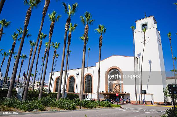 union station in los angeles, ca - union station los angeles stock photos and pictures
