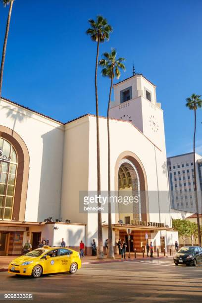 union station in los angeles california - union station los angeles stock photos and pictures