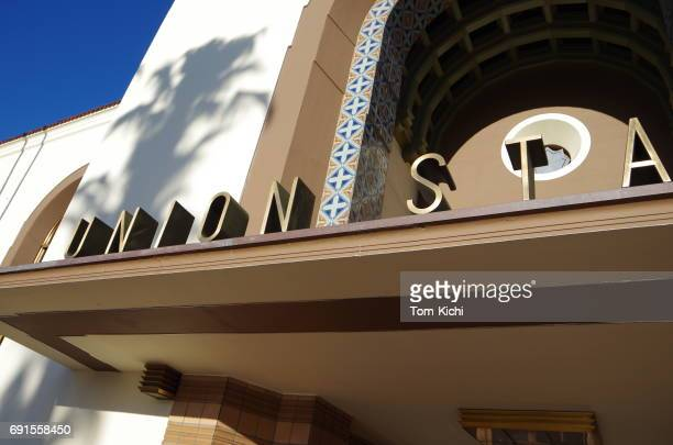 union station in los angeles - union station los angeles stock photos and pictures