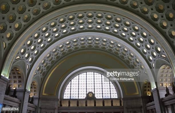 union station in washington, dc - ワシントンdc ユニオン駅 ストックフォトと画像