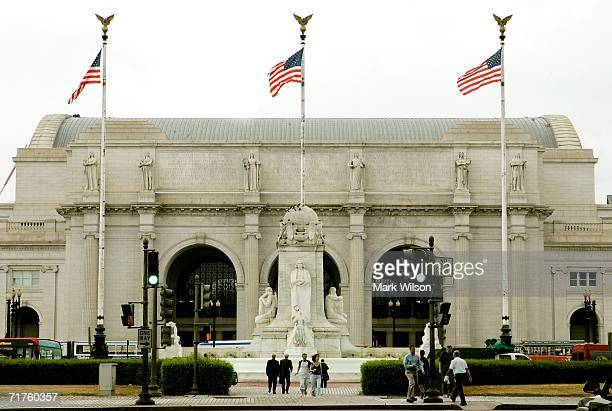 Union Station is shown August 31, 2006 in Washington, DC.