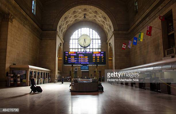 Union Station is the busiest passenger transportation facility in Canada It serves 200000 passengers a day