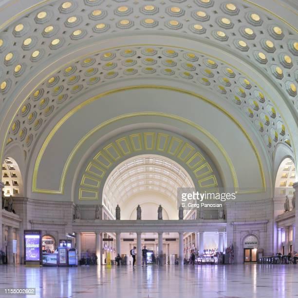 ユニオン駅-ワシントン dc - ワシントンdc ユニオン駅 ストックフォトと画像