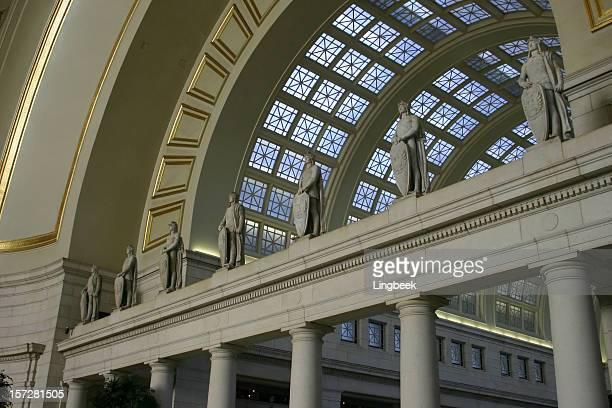 ユニオン駅、ワシントン d .c . - ワシントンdc ユニオン駅 ストックフォトと画像