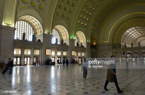 Union Station's Great Hall in Washington DC