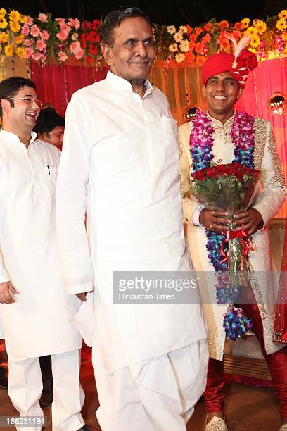 Union Steel Minister Beni Prasad Verma at the Wedding ceremony of Lawyer Ashok Basoya and ex Delhi University Student Union president Ragini Nayak on...