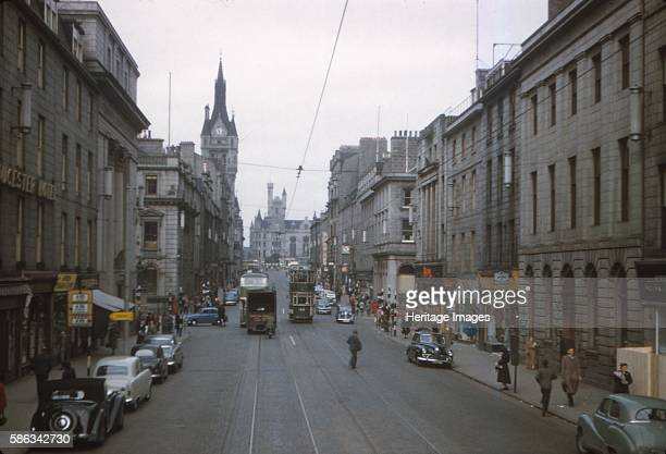 Union Street Aberdeen Scotland c1960s Union Street is a major street and shopping thoroughfare in Aberdeen named after the Acts of Union 1800 It was...