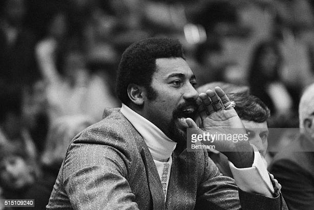Uniondale, L.I., N.Y.: Wilt Chamberlain, one of the all-time basketball greats who is currently the non-playing coach of the San Diego Conquistadors,...