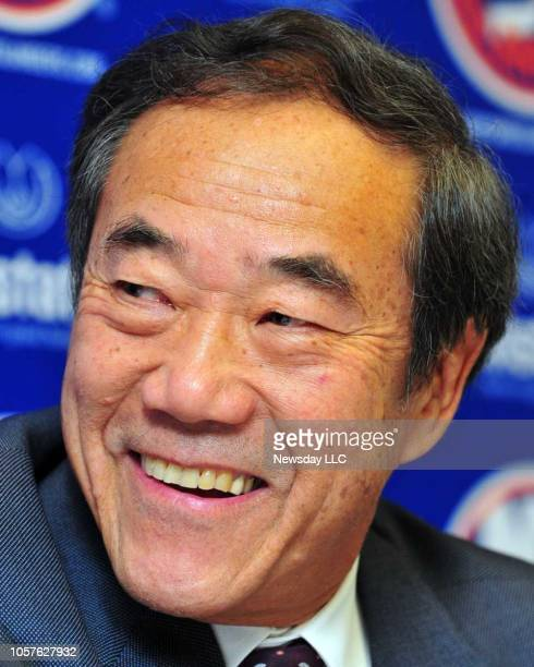 Charles Wang owner of the New York Islanders is pictured at Nassau Coliseum on Wednesday September 21 2011 in Uniondale New York
