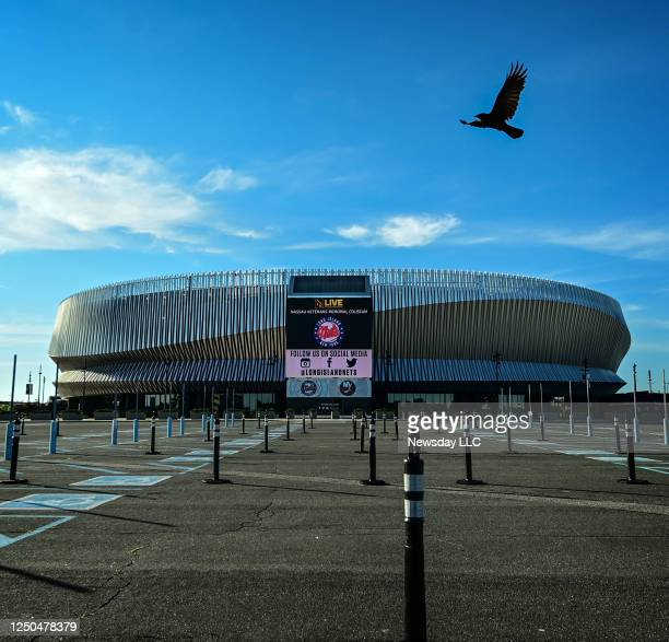 Photo of the NYCB Live / Nassau Veterans Memorial Coliseum on June 16, 2020. It was announced today that the Coliseum will be closed.