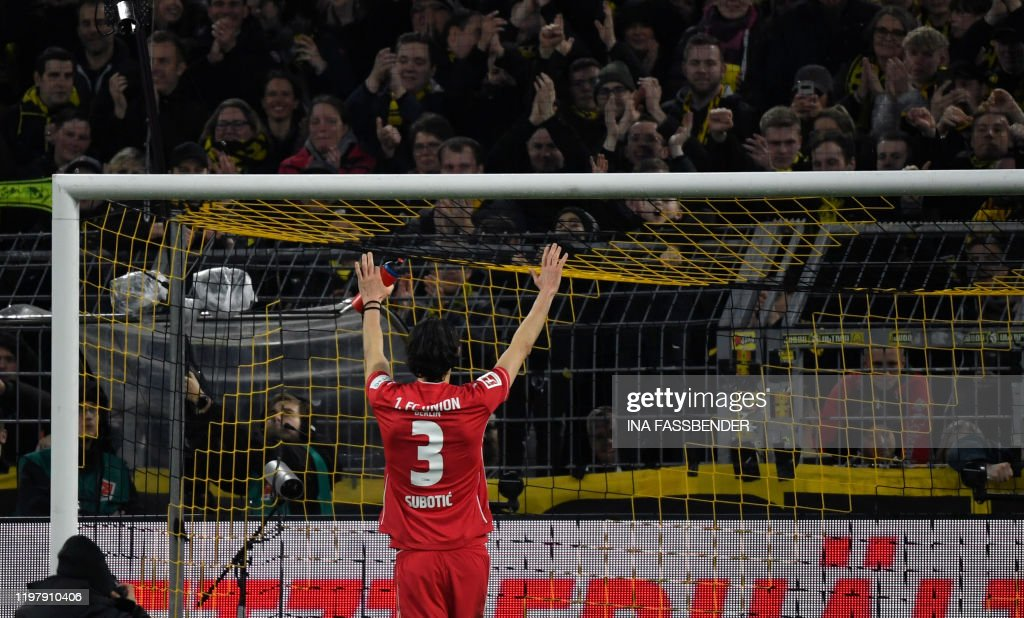 FBL-GER-BUNDESLIGA-DORTMUND-UNION BERLIN : News Photo