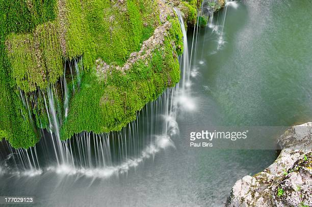 unique bigar cascade falls - romania stock pictures, royalty-free photos & images