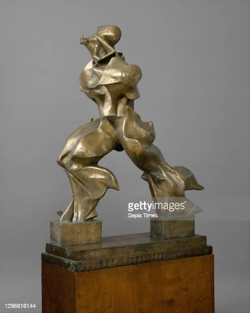 Unique Forms of Continuity in Space cast 1950, Bronze, 47 3/4 x 35 x 15 3/4 in. , Sculpture, Umberto Boccioni , The Futuristsメ celebration of the...