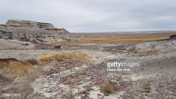 unique geology ustyurt plateau western kazakhstan