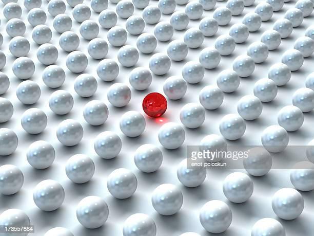 ユニークなガラス製のボール