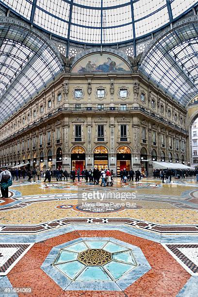 CONTENT] Unique view of Galleria Vittorio Emanuele II in Milan on February 16 2011 Built in 1875 this gallery is one of the most popular shopping...