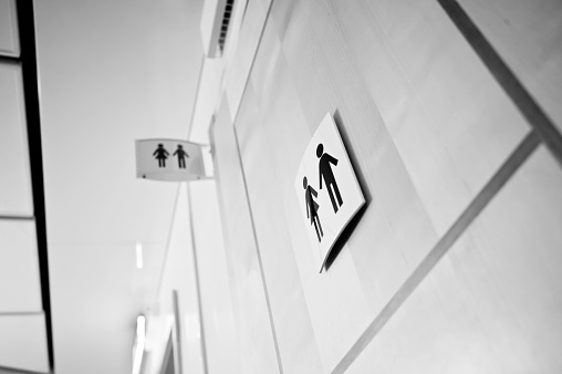 Unisex Toilet Sign 949931608