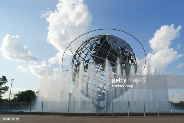 unisphere - flushing queens stock pictures, royalty-free photos & images