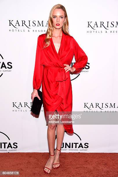 Unitas Global Ambassador Daria Strokous attends the UNITAS 2nd annual gala against human trafficking at Capitale on September 13 2016 in New York City