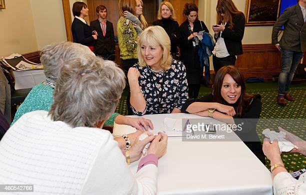 Unite union leader Jennie Formby and Gloria De Piero MP and reallife Dagenham strikers Gwen Davis Eileen Pullen Vera Simem and Sheila Douglass join...