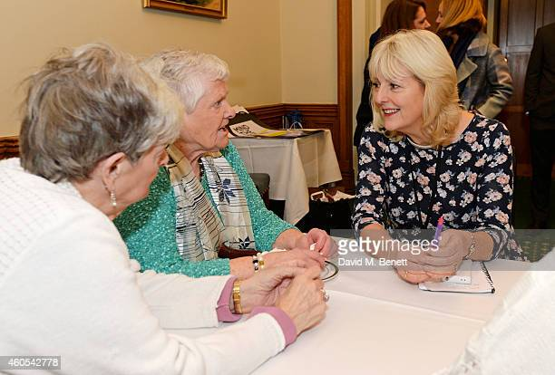 Unite union leader Jennie Formby and reallife Dagenham strikers Eileen Pullen and Vera Simem join stars of West End musical Made In Dagenham Grazia...
