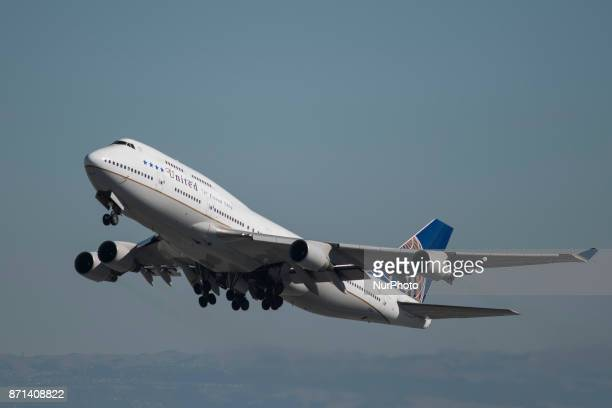 United Airlines' Boeing 747400 aircraft performed its last passenger flight on November 7 2017 The plane operating as flight number UA 747 took off...
