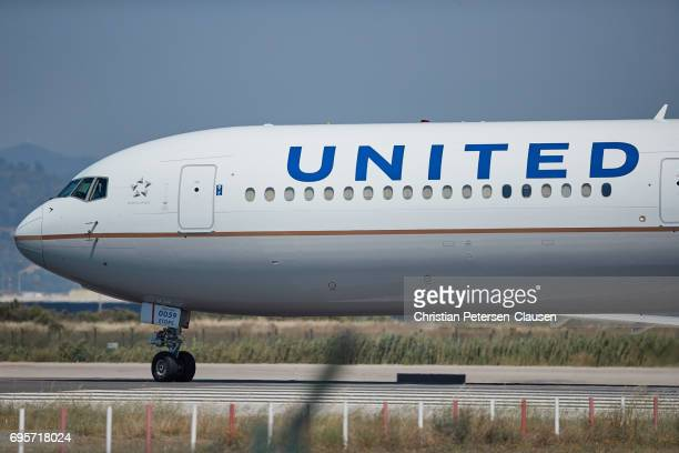 United Airlines Boeing 767  Editorial Only
