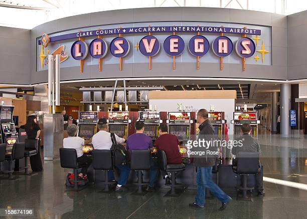 United Airlines passengers at McCarran International Airport now get to use Terminal 3 for arrivals and departures on November 20 2012 in Las Vegas...